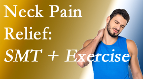 Spengel Chiropractic offers a pain-relieving treatment plan for neck pain that includes exercise and spinal manipulation with Cox Technic.