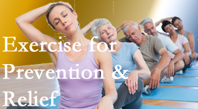 Spengel Chiropractic suggests exercise as a key part of the back pain and neck pain treatment plan for relief and prevention.