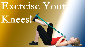Spengel Chiropractic helps knee pain sufferers find relief and discover exercises that can help protect the knees.