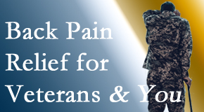 Spengel Chiropractic cares for veterans with back pain and PTSD and stress.