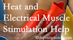 Spengel Chiropractic utilizes heat and electrical stimulation for McHenry pain relief.