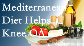 Spengel Chiropractic shares recent research about how good a Mediterranean Diet is for knee osteoarthritis as well as quality of life improvement.