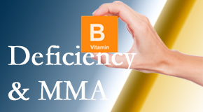 Spengel Chiropractic knows B vitamin deficiencies and MMA levels may affect the brain and nervous system functions.