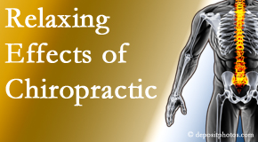 Spengel Chiropractic offers spinal manipulation for its calming effects for stress responses.