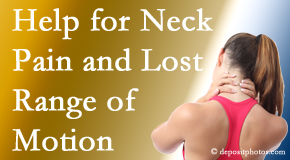 Spengel Chiropractic helps neck pain patients with limited spinal range of motion find relief of pain and restored motion.
