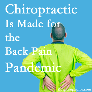 McHenry chiropractic care at Spengel Chiropractic is prepared for the pandemic of low back pain.
