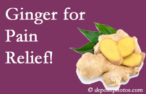 McHenry chronic pain and osteoarthritis pain patients will want to check out ginger for its many varied benefits not least of which is pain reduction.