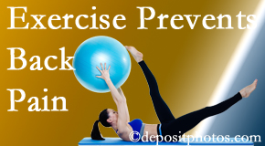Spengel Chiropractic encourages McHenry back pain prevention with exercise.