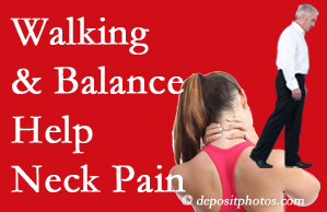 McHenry exercise assists relief of neck pain attained with chiropractic care.