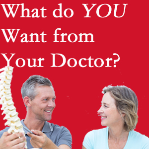 McHenry chiropractic at Spengel Chiropractic includes examination, diagnosis, treatment, and listening!