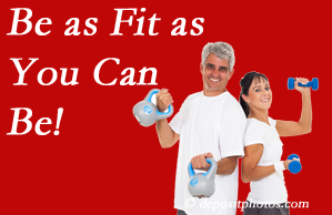 Spengel Chiropractic urges McHenry chiropractic patients to be as fit as they can for their back and body's sake!