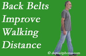 Spengel Chiropractic sees value in recommending back belts to back pain sufferers.
