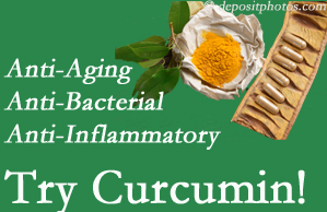 Pain-relieving curcumin may be a good addition to the McHenry chiropractic treatment plan.