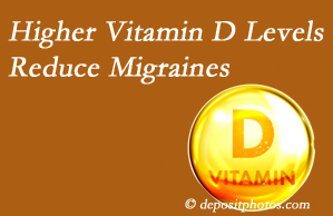 Spengel Chiropractic shares a new study that higher Vitamin D levels may reduce migraine headache incidence.