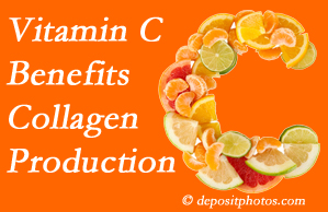McHenry chiropractic shares tips on nutrition like vitamin C for boosting collagen production that decreases in musculoskeletal conditions.